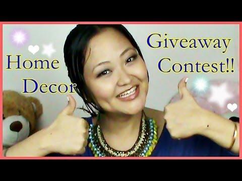 INTERNATIONAL GIVEAWAY 'Home Furnish' - Open Worldwide!