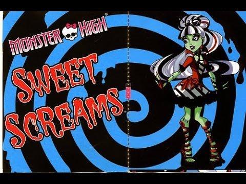 Monster High Frankie Stein Sweet Screams Makeup Tutorial