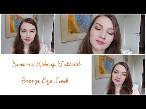 Summer Makeup Tutorial: Bronze Eye Look