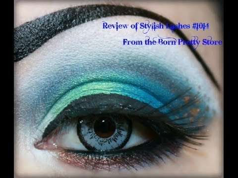 Stylish False Eyelash Eye Lash Party Queen #1014 from the Born Pretty Store