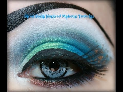 Siren Song Inspired Tutorial Featuring Candii Blossom Cosmetics and Prinsess Makeup