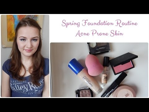 Spring Foundation Routine for Acne Prone Skin (2)