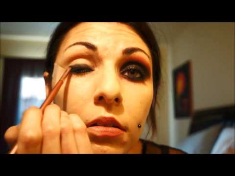 Alice in Wonderland Madness Returns makeup tutorial