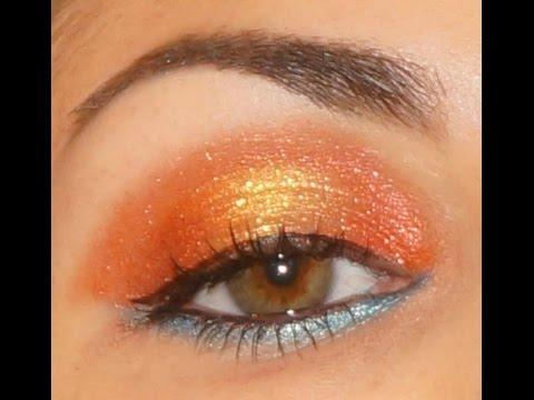 """Fired Up"" eyeshadow tutorial feat. U-Notyce Cosmetics"