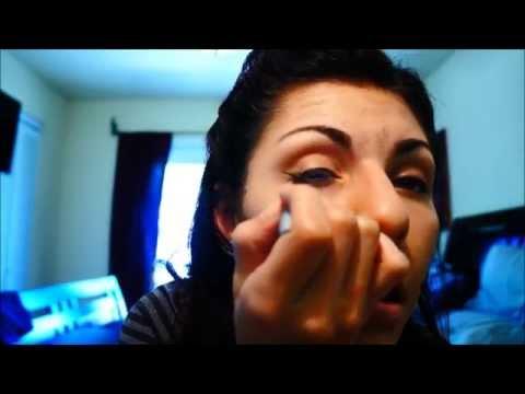 Meeko's Pin Up Hair and Makeup Tutorial