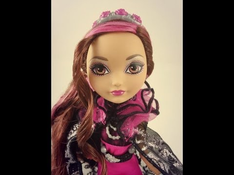 Ever After High Briar Beauty Legacy Day Makeup Tutorial