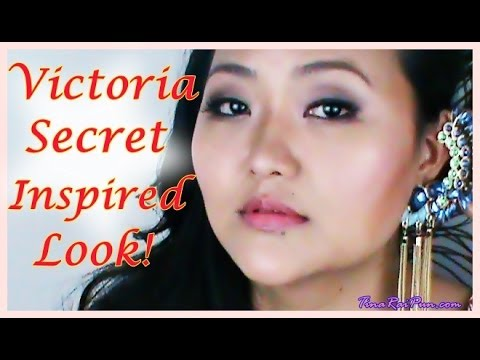 Victoria's Secret Angel Inspired Makeup Tutorial! Tina Rai Pun, Indian Vlogger/Blogger