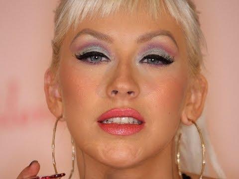 Colorful Christina Aguilera's Makeup Tutorial