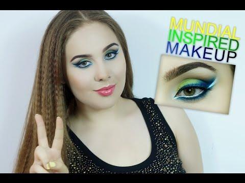 Mundial Inspired Makeup Tutorial