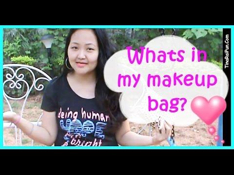 What's in my Makeup Bag? FabBag, Travel Beauty Tips - Tina Rai Pun