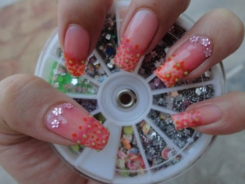 Small Nails Flowers for Eid Al-Fitr