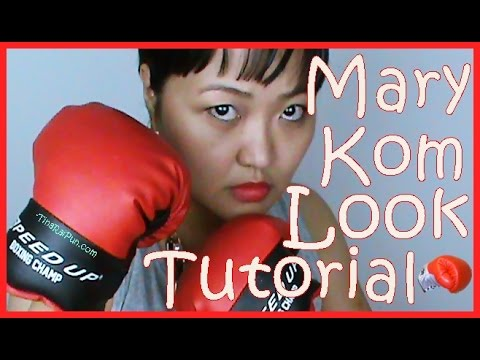 Mary Kom Inspired Look Tutorial I  Tina Rai Pun