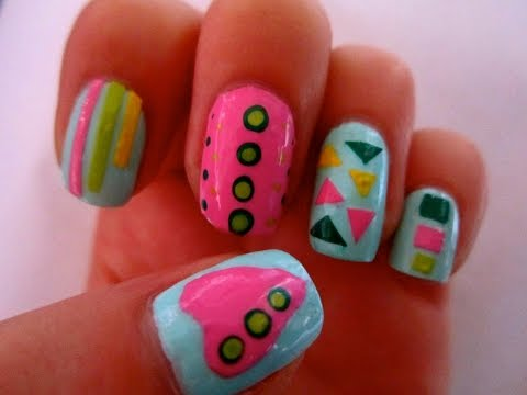 Make Your Own Nail Art Designs stickers - DIY EASY Nail Art Designs