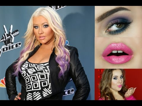 CHRISTINA AGUILERA'S FROM THE VOICE EVENT MAKEUP TUTORIAL