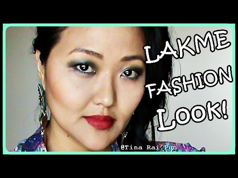 Lakme Fashion Week Chitrangada Singh Inspired Makeup! Tarun Tahiliani Fashion Look!