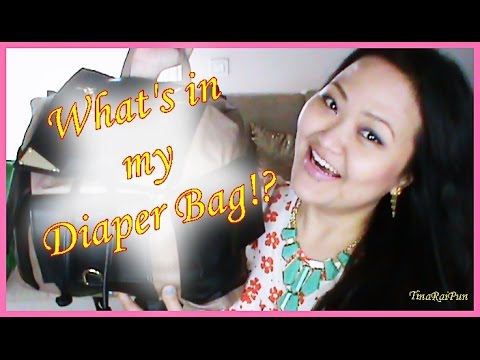 What's in my Travel Steve Madden Diaper Bag!? ft.my Baby!