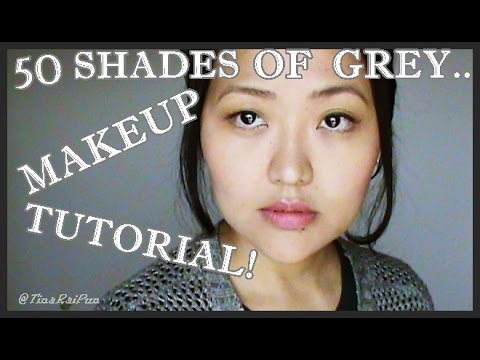 '50 Shades Of Grey' Valentine Makeup Tutorial! Tina Rai Pun!
