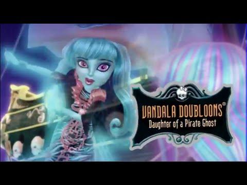 Monster High Vandala Doubloons Haunted Makeup Tutorial