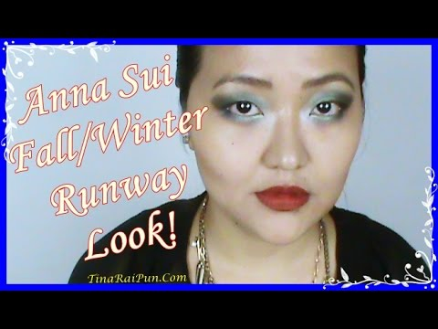 Fall/Winter Anna Sui Runway Look, Tina Rai Pun!