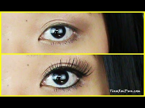 How To Apply False Eyelashes Tutorial!