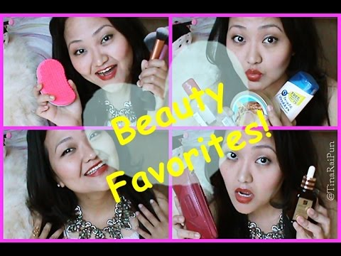 Beauty Favourites 2014! Tina Rai Pun!