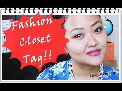 Fashion Closet Tag! Tina Rai Pun