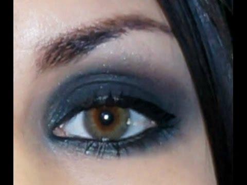 Dark Green and Black Smokey eye tutorial feat. PixiKissCosmetix