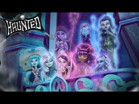 Monster High Rochelle Goyle Haunted Makeup Tutorial