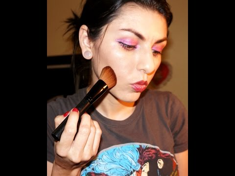 DEMO & REVIEW of U-Notyce Cosmetics Face Blending Brush Set!!