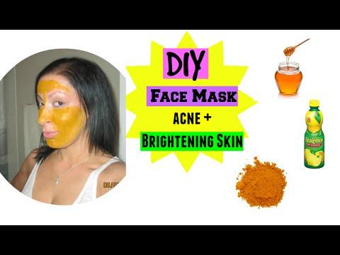 DIY | Face Mask | Acne Scaring + Skin Brightening