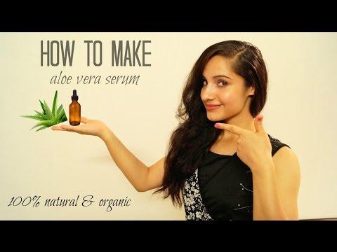 DIY Natural & Organic Aloe Vera Serum   Beautifull And Blessed