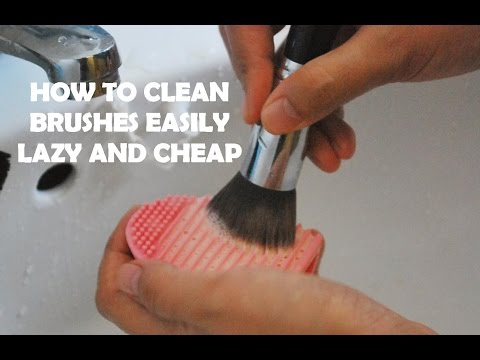 How to wash Nail Art & Makeup Brushes with Brush Egg (Beauty Monday)