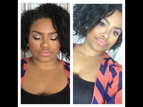 Glamorous Makeup Look   Live Model + Demo