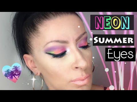 Neon Summer Eyes | Collab #SummerFun