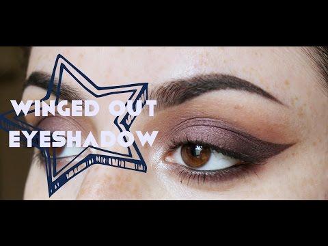 Winged out eyeshadow tutorial | makeupbyilona