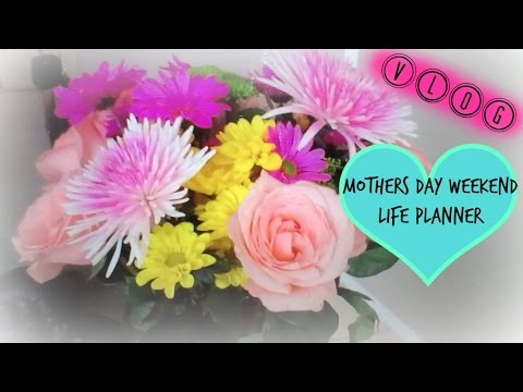 VLOG 5/14 - 5/18 | Mothers Day, Post Office + Planner
