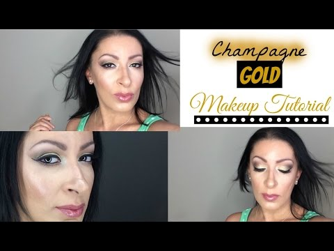Champagne Gold | Makeup Tutorial