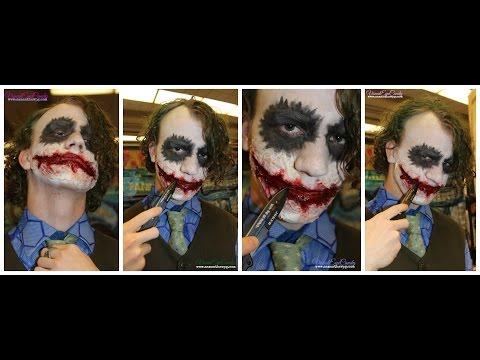 Heath Ledger in Inspired Joker SPFX makeup by VisualEyeCandy