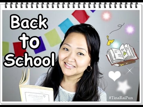Back to School Style I Easy Tips I Tina Rai Pun