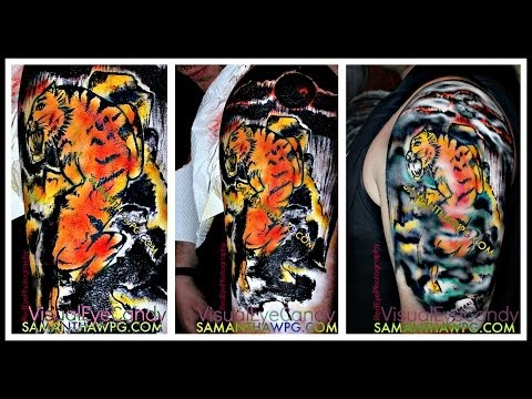 Body Painting Winnipeg Live at The Winnipeg Taboo Show 2014 By SamanthaWpg.com