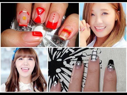 KPOP Nails: Apink(에이핑크) Remember(리멤버) Eunji Collaboration with Nailsthatssoorad