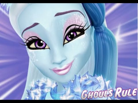 Monster High Abbey Bominable Ghouls Rule Makeup Tutorial