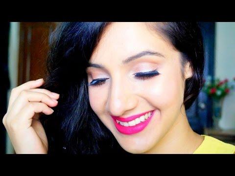 Romantic Pink Makeup Tutorial   Beautifull & Blessed