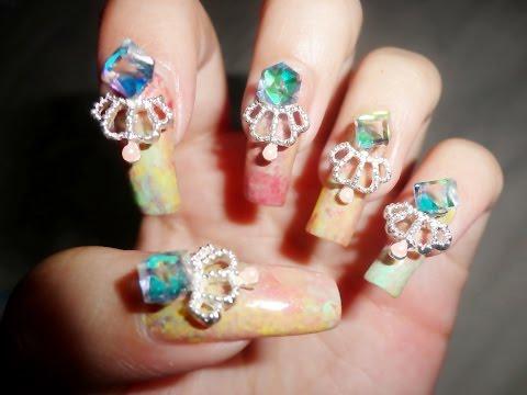 Cinderella Nails Halloween