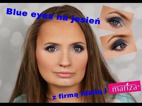 Blue eyes for fall with Mariza