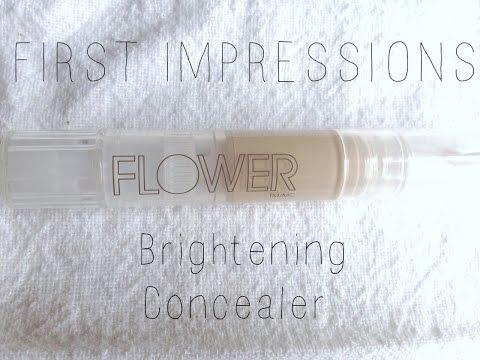 First Impressions: Flower Lighten Up Brightening Concealer | CRUELTY FREE