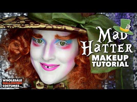 MAD HATTER MAKEUP TUTORIAL ft. Caitlyn Kreklewich | #WHCdoesSFX