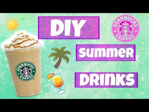 DIY | Starbucks Summer Drinks #SummerFun