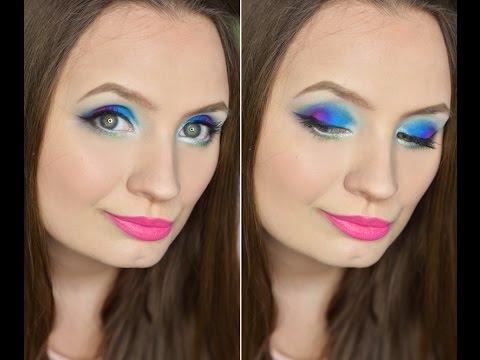 Makeup with Makeup Revolution Colour Chaos palette