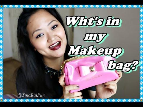 Whats in my Makeup Bag!? #TedBaker I Tina Rai Pun
